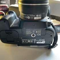 Зеркальный фотоаппарат Sony Alpha A550, в Воронеже