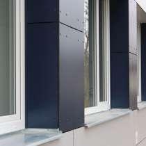 Пластик бумажно-слоистый HPL для фасадов, фасадные панели Г1, в Москве