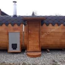 Квадро-баня 5,7 метров, в Краснодаре