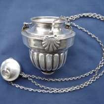 Старинная серебряная лампада. Ампир. спб., 1832 г, в Санкт-Петербурге