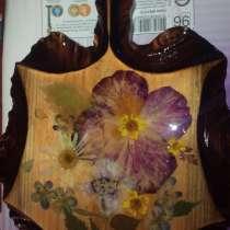 Сувениры разделочная доска с цветами, в г.Волчанск