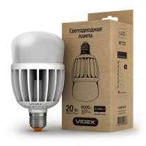 Светодиодная лампа (LED) Videx A80 20W E27 6000K 220V матова, в г.Чугуев