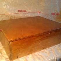 Ящик фанерный лакированный с крышкой б/ у, в г.Могилёв