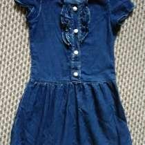 Джинсовое платье на девочку 3-7 лет, в Омске