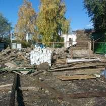 Демонтаж старых построек, в Тамбове