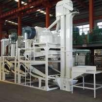 Линия для очистки, шелушения и сепарации семян подсолнечника, в г.Xiaoqu