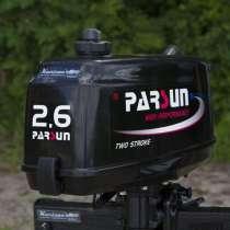 Лодочный мотор Parsun T 2.6 BMS 2-х тактный 2.6 это 3.5лс, в Миассе