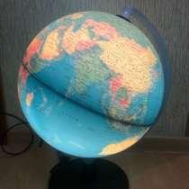 Глобус с подсветкой, в Ростове-на-Дону