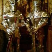 Рыцарь средневековья, в Краснодаре