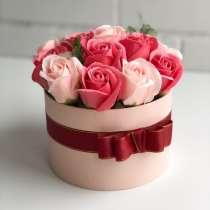 Букет мыльных роз, в Ростове-на-Дону