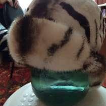 Продам абсолютно новую шапку из норки и шиншиллы, в Томске