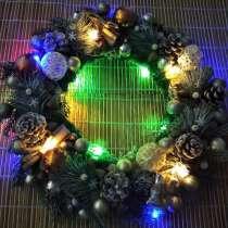 Новогодний венок, в Калининграде