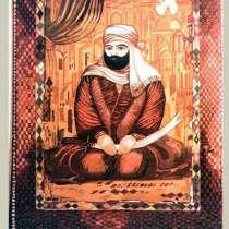 Чисто шерстяной ковер ручной работы, на котором изображена, в г.Баку