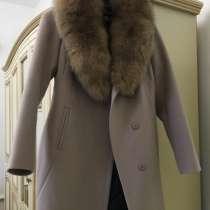Пальто бежевого цвета, в Назране