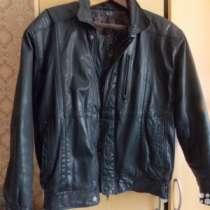 куртка кожаная 48 размера, в Калининграде