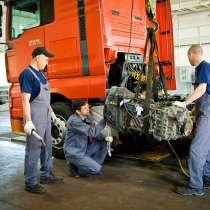 Ремонт и замена двигателя и коробки у грузового транспорта, в г.Минск