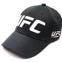 Бейсболка мужская UFC flexible (черный), в Москве
