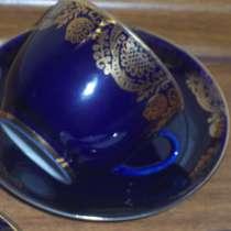 Чайные пары, тарелочки, сахарница ЛФЗ СССР, в Москве