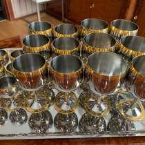Цептер бокалы, рюмки, поднос, в Санкт-Петербурге