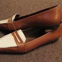 Туфли кожаные Ralph Lauren Vintage (Бразилия), в Москве