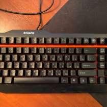 Механическая клавиатура Zalman ZM-K500 Black USB, в Москве