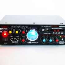 Усилитель звука UKC AV-339A + USB + КАРАОКЕ 2 микрофона, в г.Сумы