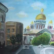 Масляная картина, в Зеленограде