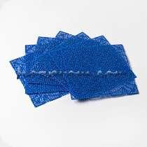 Дренажный коврик Лазурь синего цвета для обсушки сыров, в г.Харьков