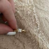 Золотое кольцо с бриллиантами, в Владикавказе