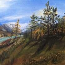 Пейзаж «Лес», в Бийске
