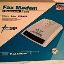 Продам факс-модем, новый, в Новосибирске