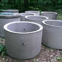 Кольца ЖБИ канализационные, днища, крышки для септиков, в г.Минск