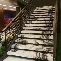 Лестницы из мрамора и гранита, в Москве