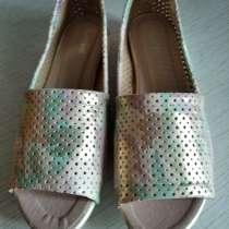 Продаю летние женские туфли 38 разм, в Москве