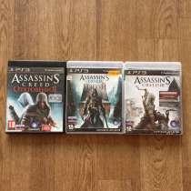 Диски 7 штук на PS3 Assassins creed (ВСЯ коллекция), в Санкт-Петербурге