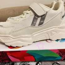 Новая пара детских белых кроссовок для девочек, в Химках