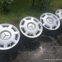 Продам оригинальные диски с колпаками R 16 от Мерседес W211, в г.Минск