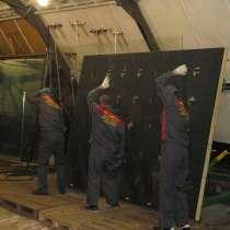 Замена разбитого стекла в стеклопакете, в Москве