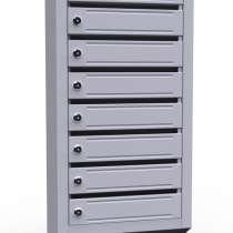 Многоскционные почтовые ящики ЭК8 (8 секций)•доставка, в Владимире