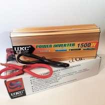 Инвертор UKC 1500W 24V Преобразователь тока AC/DC Gold, в г.Киев