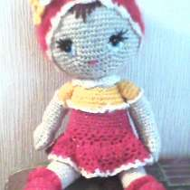 Кукла в красной шапочке вязаная игрушка, в г.Донецк