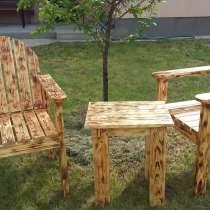 Кресла и столики сосна массив, в г.Киев