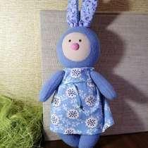 Интерьерные мягкие игрушки - Зайка в платье, в Санкт-Петербурге