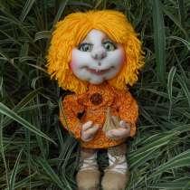 Куклы в чулочно-текстильной технике, в Белово