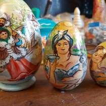 Пасхальное сюжетные яйцо, в Фрязине