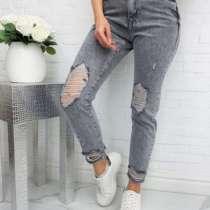 Серые женские джинсы MOM, в г.Львов