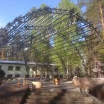 Арочный навес (сборно-разборные металлоконструкции), в Москве