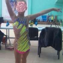 Купальник для художественной гимнастики на рост 124-136см, в Белгороде