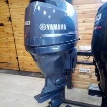 Лодочный мотор Yamaha F100, в Москве