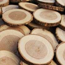 Спилы дерева для декора, в Звенигороде